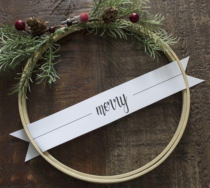 AKA Design Merry Christmas Embroidery Hoop Wreaths 4 BLOG PIC