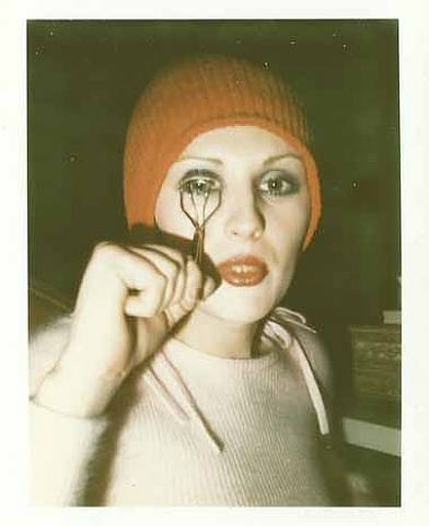 Superstar Candy Darling by Robert Mapplethorpe.