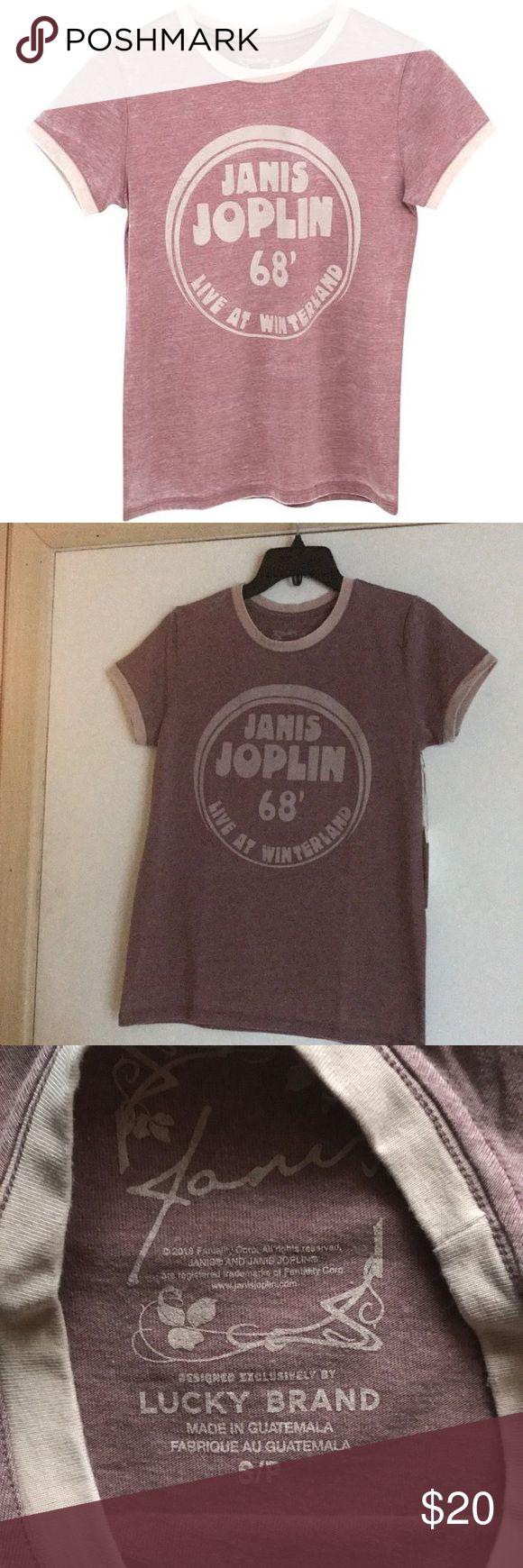 NEW Graphic Janis Joplin 68' Winterland T-shirt Approx 24 ...