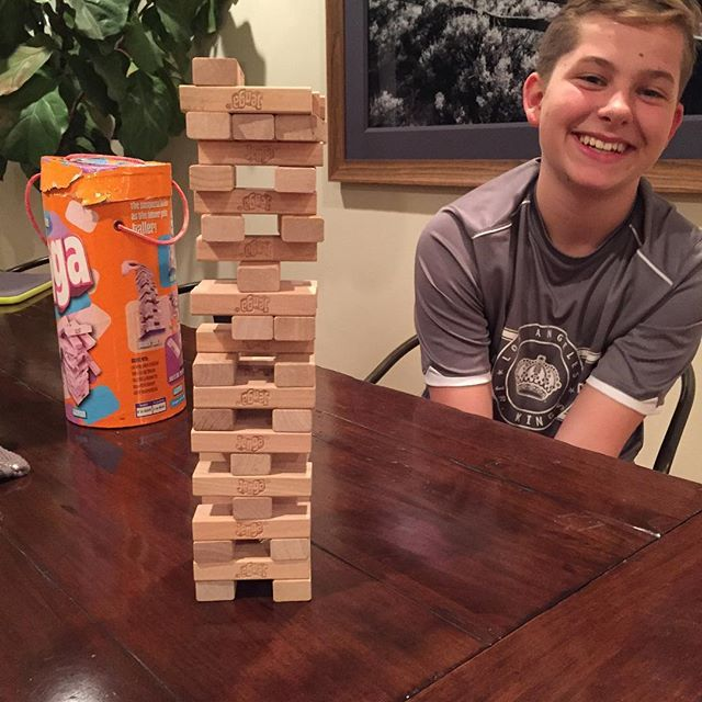 "Pin for Later: Candace Cameron Bure's Sweet Family Snaps Couldn't Be Cuter  Candace: ""Maks and I are having a game night."""