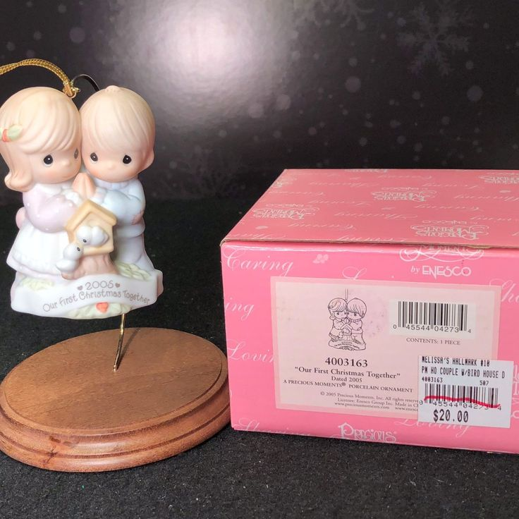 2005 Precious Moments Our First Christmas Together Ornament Marriage Anniversary | eBay