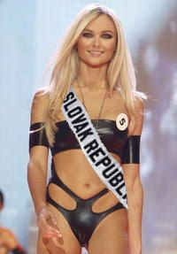 Anna Amenova - Miss Universe Slovak Republic 2010 / Swimmsuit Jana Gavalcova fashion designer