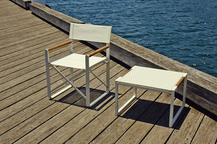 With a folding mechanism for convenient storage and mobility, teak accents, and a 1-¾ inch, solid aluminum frame, the LCA mixes detail and quality with everyday functionality. By the beach, or on the patio, the LCA can be taken with you on any outdoor adventure. #Harbouroutdoor #coastalliving #outdoorfurniture #dawsonandco
