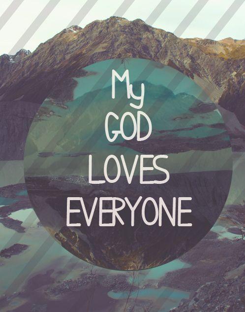 LIKE that we serve a LOVING GOD! Share!  ~ I'm Proud To Be a Christian