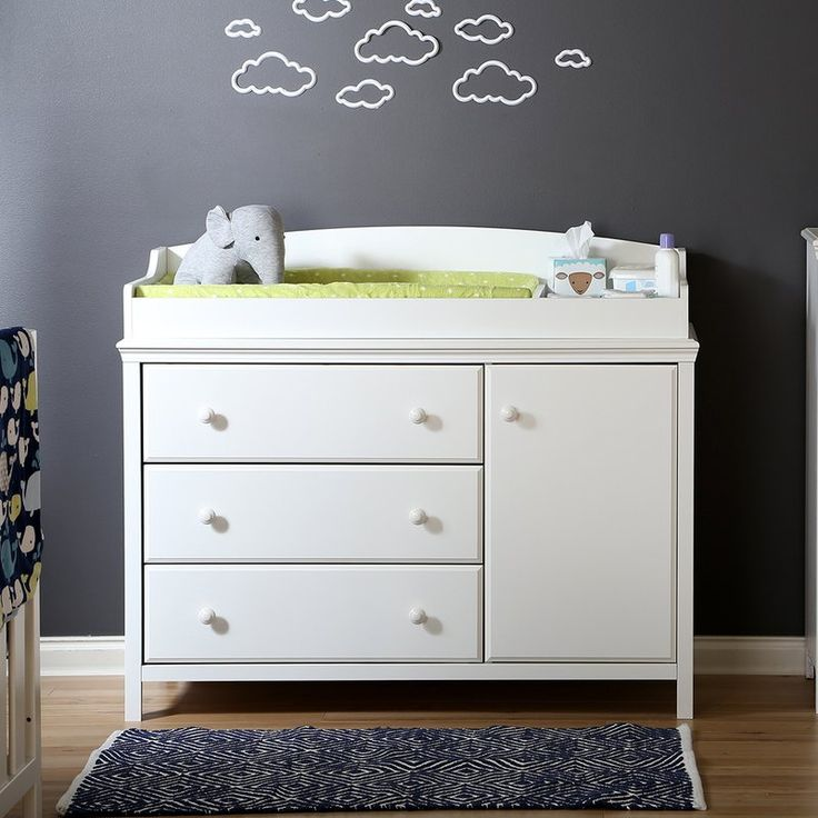 South Shore Cotton Candy Changing Table & Reviews | Wayfair