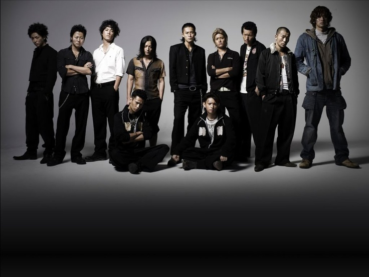 Crows Zero 2, starring Shun Oguri, Shunsuke Daitō, Suzunosuke Tanaka, Sōsuke Takaoka, Kyōsuke Yabe, Takayuki Yamada, Tommy Ly, Yusuke Nakajima