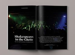 Shakespeares in the Ghetto by Victor Barac, a Feature Story Cover Spread!