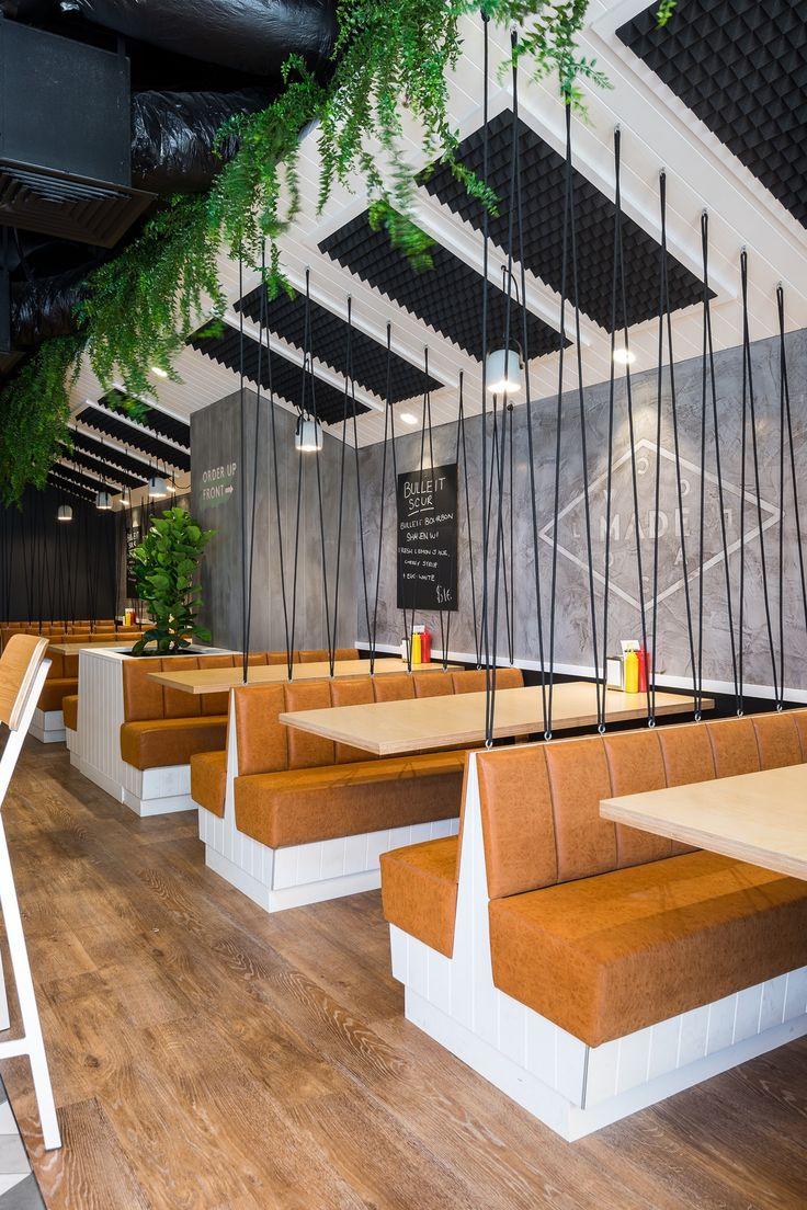 Inside Main Street Burger Bar On Gold Coast Restaurant