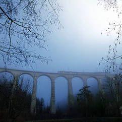 #Viadukt von St. #Ursanne in Switzerland