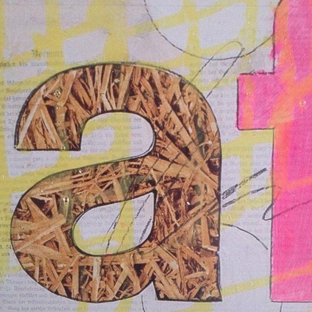#letter#a#buchstaben#stroh#illustration#art#kunst#artwork#pictures#bild#wallart#design#pattern#muster#print#design#paper#paperwork#paperlove#papier#papierliebe#lettering#zeichnung#printing#decoration#deco