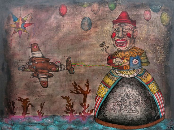 Sarah Tse, The Dark Clown, Reverie | Artify Gallery