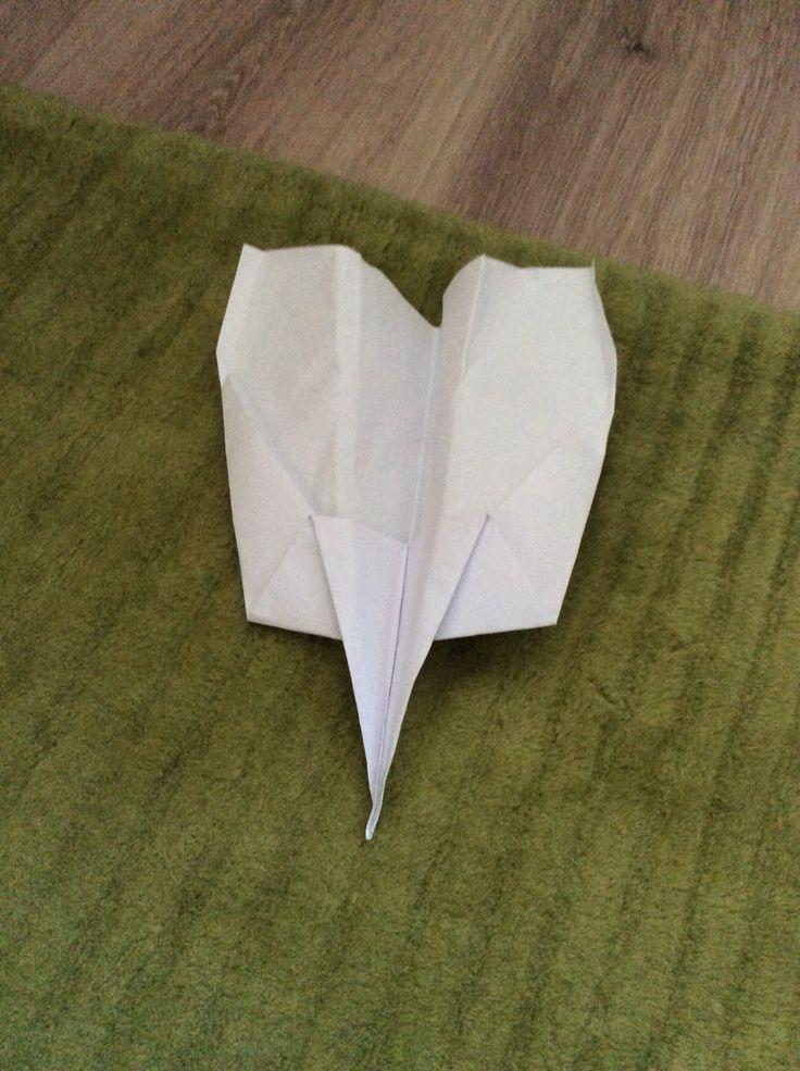 Fast paper plane