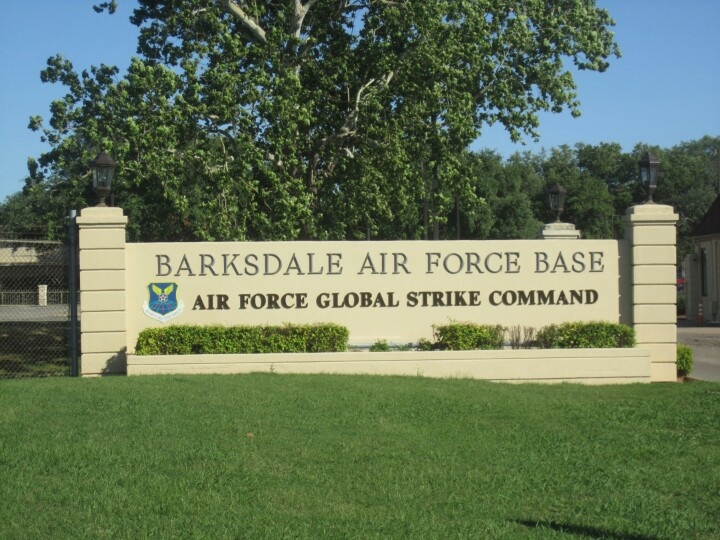 Barksdale Air Force Base Bossier City, LA (My 2nd Base)