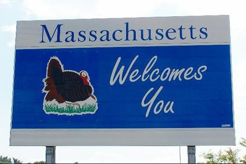 Massachusetts: Massachusetts I, Usa Massachusetts, 50 States, Massachusetts Lifeteam, Welcome Signs, States 50, States Flags, Massachusetts Signs, U.S. States