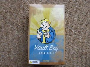 "Fallout 4 Pip Boy / Vault Boy 5"" (inch) Bobble Head Charisma. New And Sealed"