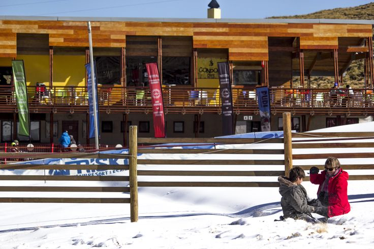 The Gondola @Afriski Mountain Resort Mountain Resort is where the snowbunnies can relax, enjoy snacks and drinks, play games and squeak some takkie. #Lesotho #goneskiing #Africa