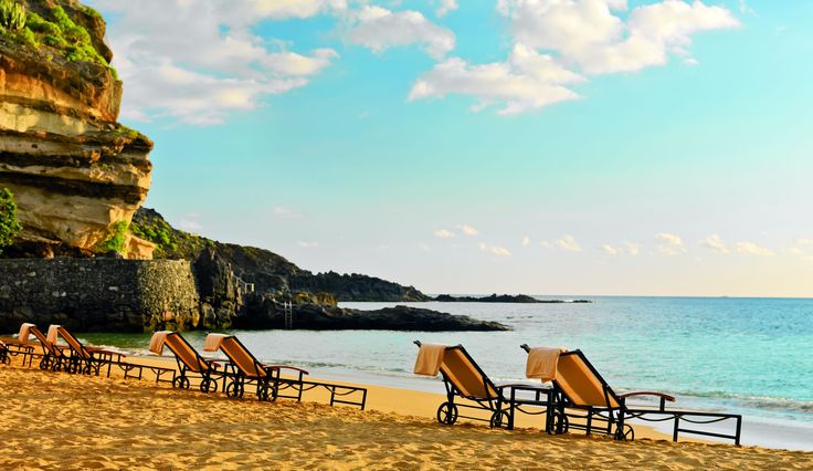 The Ritz-Carlton, Abama, Tenerife. This west coast resort − in Guia de Isora − with its exclusive, secluded golden-sand beach, funicular and two natural pools to cool off in, is not one to do things by halves.