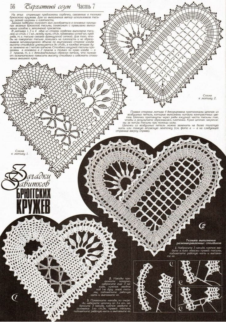 Hearts lace