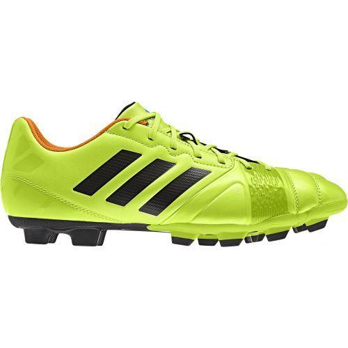De adidas, Nitrocharge 3.0 trx fg solar lime is voor de voetballer die wil  presteren