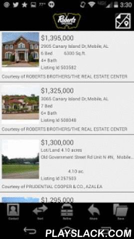 Roberts Brothers Realtors  Android App - playslack.com ,  Roberts Brothers Realtors app brings you the most accurate and up-to-date real estate information to your iPhone and Android devices. With our app, you have access to homes that are for sale as wel