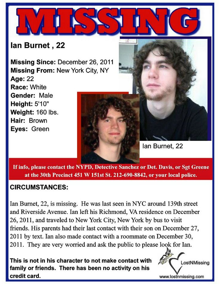 290 best Missing person images on Pinterest Missing persons - make a missing poster