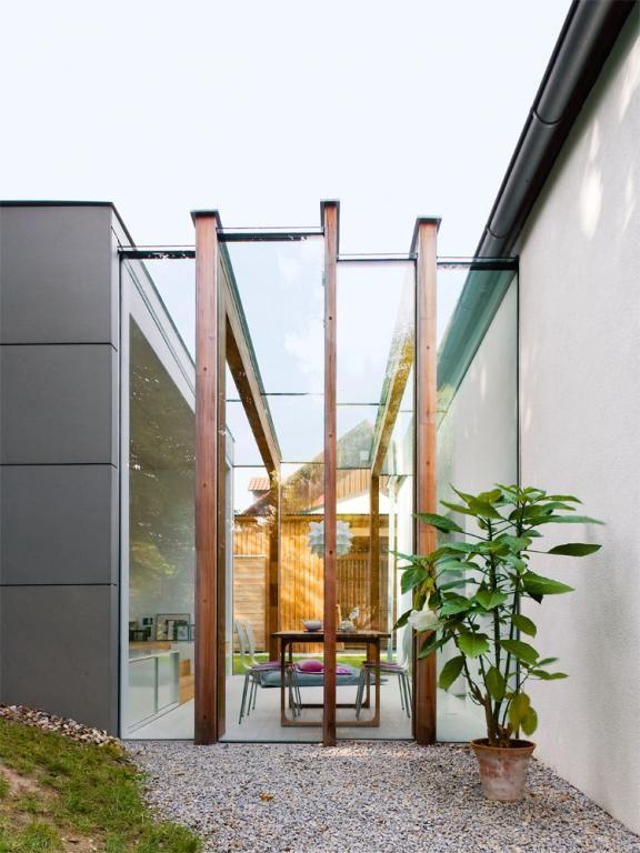 ber ideen zu baustile auf pinterest kubus haus versetztes pultdach und fertigh user. Black Bedroom Furniture Sets. Home Design Ideas
