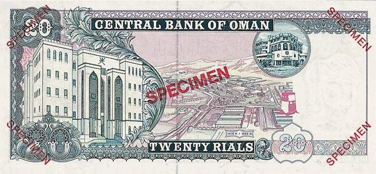 Will's Online World Paper Money Gallery. This is an impressive collection of images of bank notes (viewable in high resolution) from across the globe. Image: bank note from Oman  http://www.currencymuseum.net/index.html