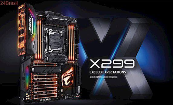 Gigabyte lança oficialmente sua linha de placas Aorus Gaming X299 para Intel Core X