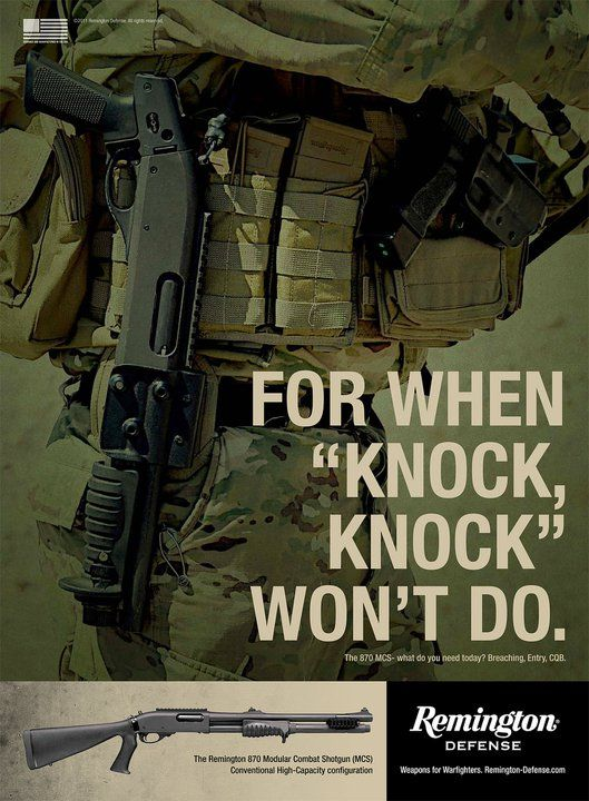 Home defense or straight tactical assault.