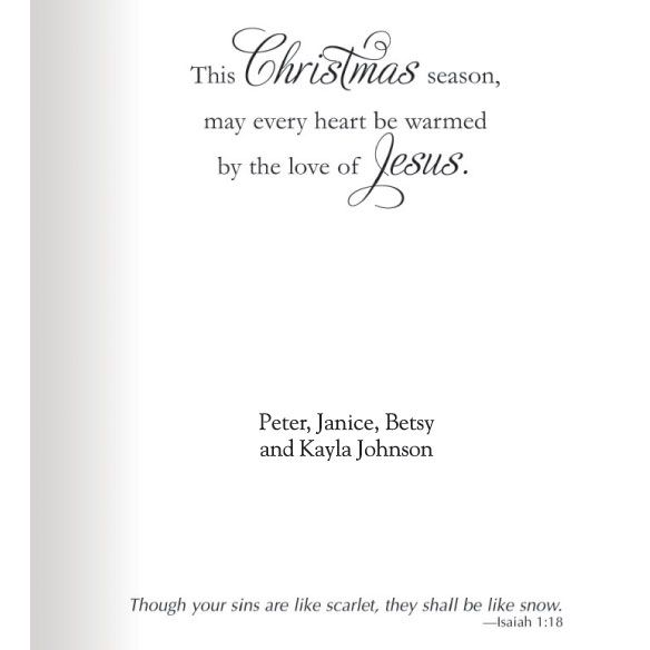 religious christmas card sayings - Google Search