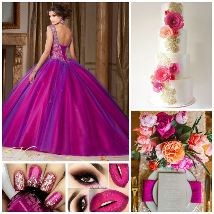 There are plenty of color themes waiting for you to discover! | Quinceanera Ideas |