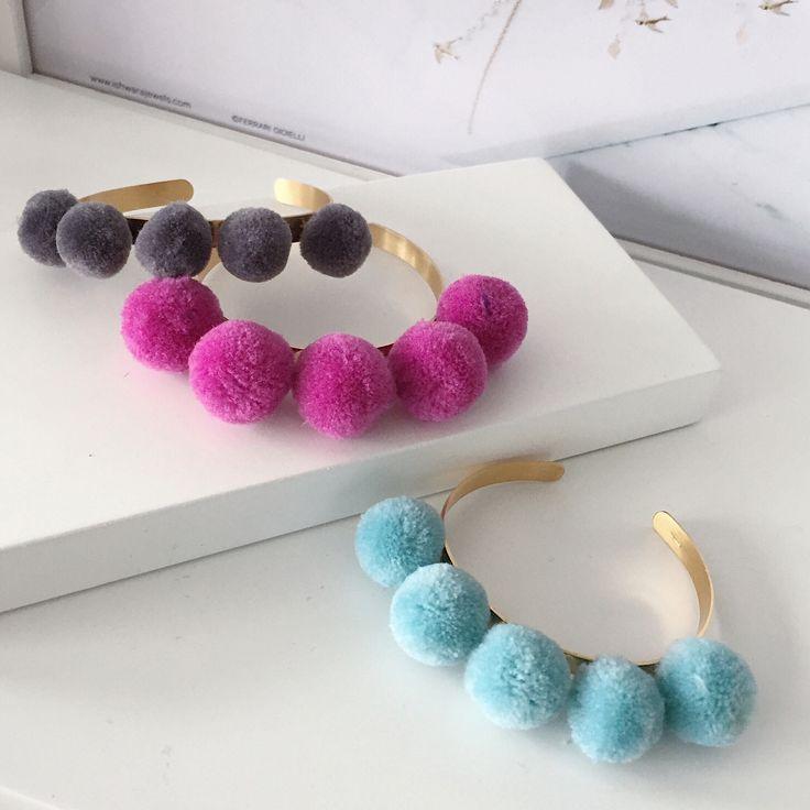 Ishwara Jewels pompom bangles  #ishwarajewels #pompom #pompomjewelry #bangle #jewelry #fashionpost