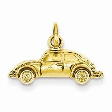 Car Charm in 14k Gold