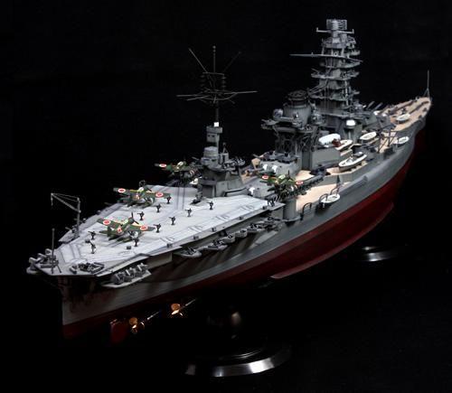 fujimi imperial japanese navy battleship ise 1