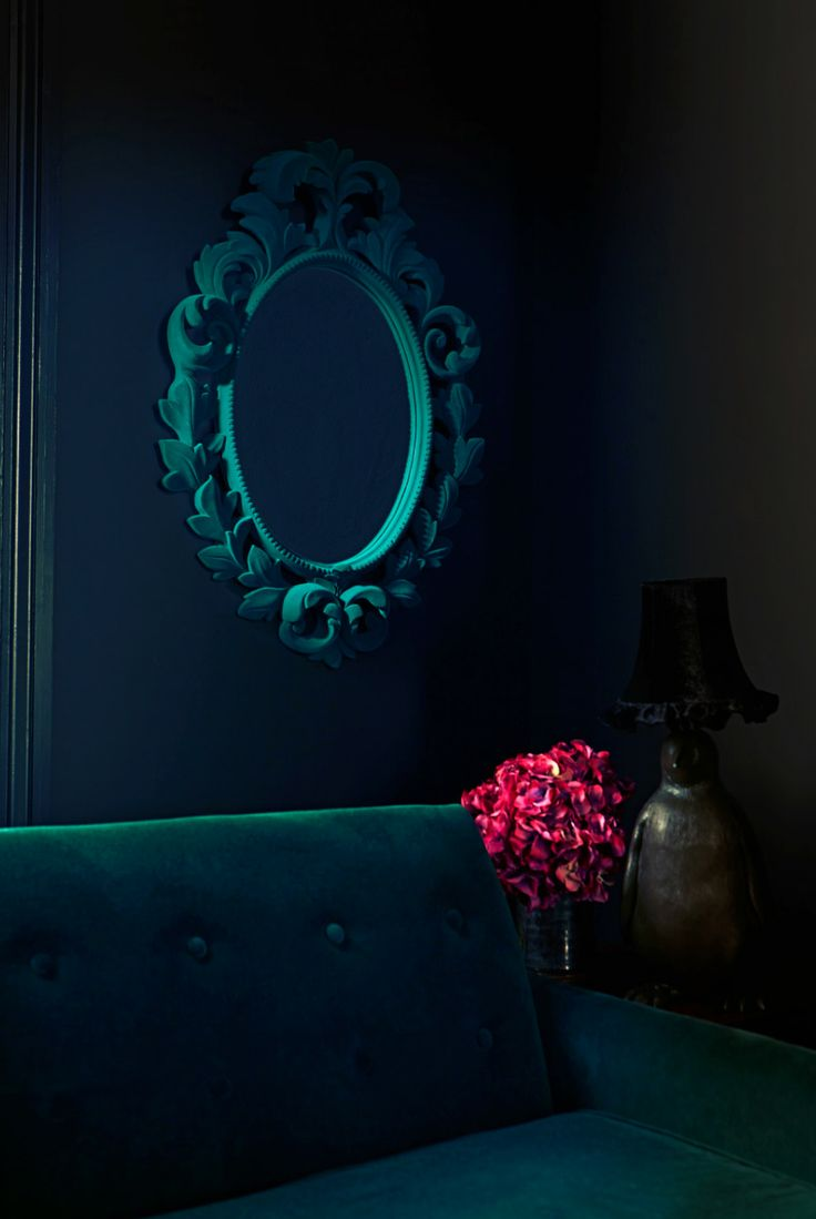 My latest mirror for Debenhams a flocked teal mirror; Another sneak peak of my new Debenhams range; http://www.debenhams.com/home-furniture/abigail-ahern-edition