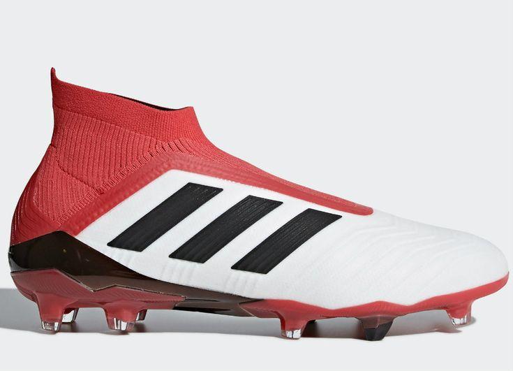 #football #soccer #futbol #adidasfootball #adidassoccer Adidas Predator 18+ FG Cold Blooded - Ftwr White / Core Black / Real Coral