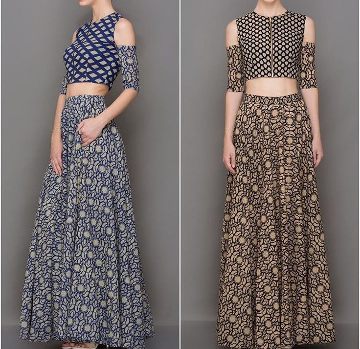 Nitya bajaj# off shoulder look # cropped top love # fusion wear