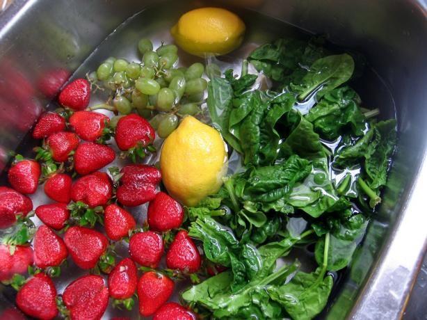 Het hoe en waarom van het wassen van groenten en fruit