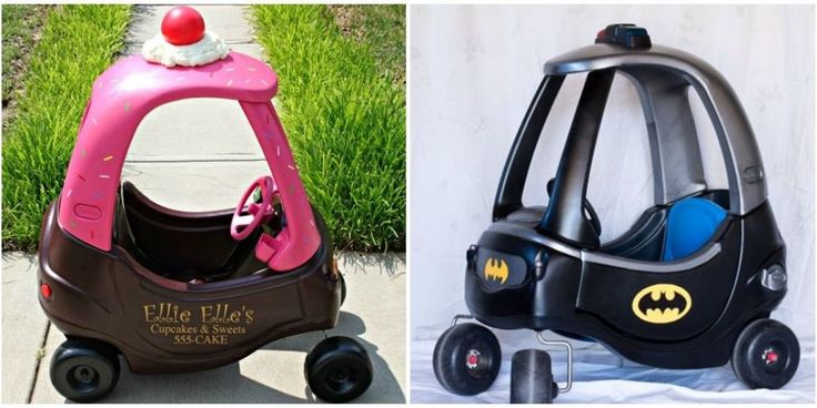 10 Cozy Coupe Makeovers - Cozy Coupe Transformations By Parents