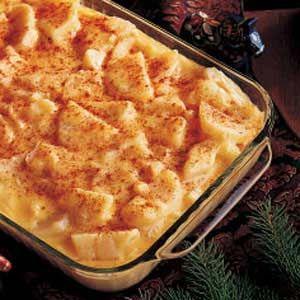 Cheesy Potatoes... I love cheesy potato's !