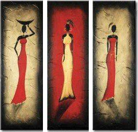 Cuadros Tripticos , Polipticos, Africanos Modernos - $ 650,00 en ...