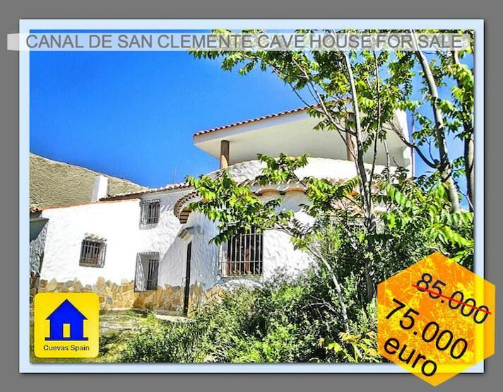 Cave house in a little hamlet near lake San Clemente€75000