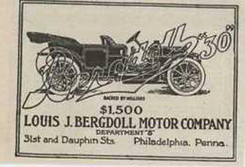 10 best bergdoll motor company ads images on pinterest for Motor vehicle philadelphia pa