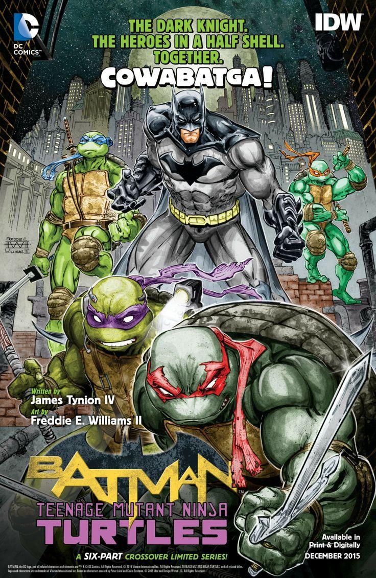 Batman / Tenage Mutant Ninja Turtles - Freddie H Williams II