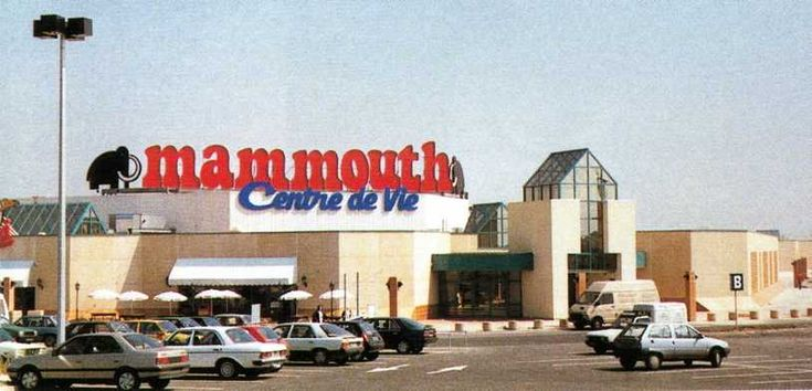 Les supermarché Mammouth