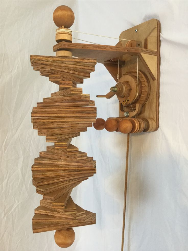 """""""Swirl"""" Kinetic Sculpture Plans gives you step by step instructions to make your own art sculpture. The """"Swirl"""" shape that turns slowly is approx. 22""""inches long x 6""""inches wide ."""