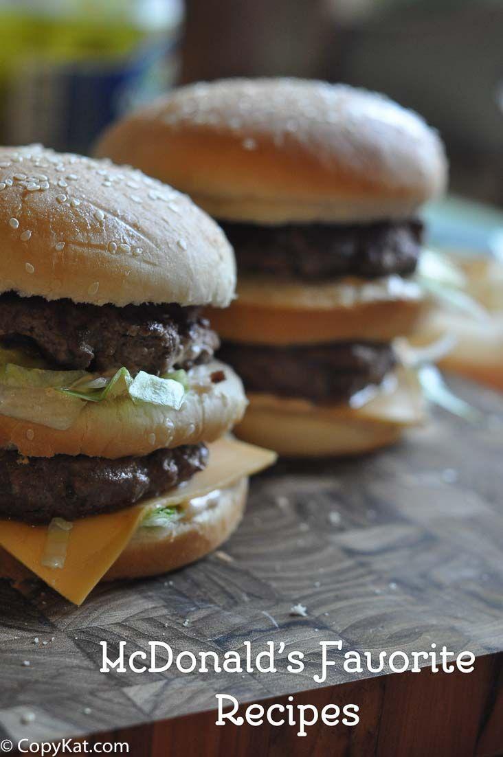 The Best McDonald's Copycat Recipes