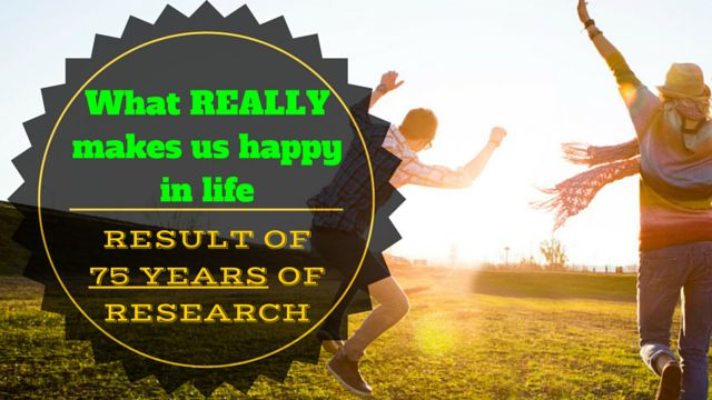 What REALLY makes us #happy in life – result of 75 years of research: http://brandonline.michaelkidzinski.ws/what-really-makes-us-happy-in-life-result-of-75-years-of-research/