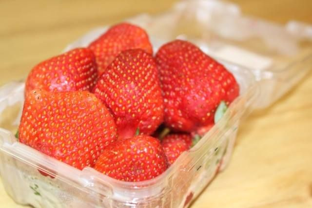 It's strawberry season in The Marina Deli again... That's right, we have these delicious berries in store right now!!! http://on.fb.me/1Slug3A