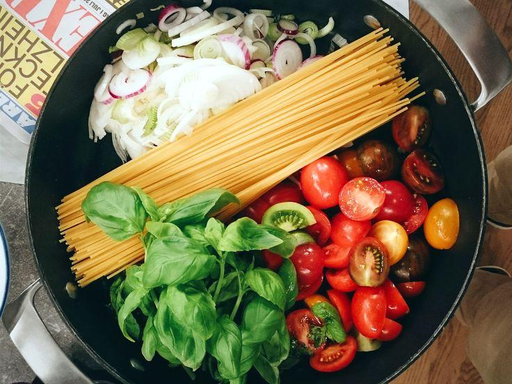 One pot pasta   Recept från Köket.se